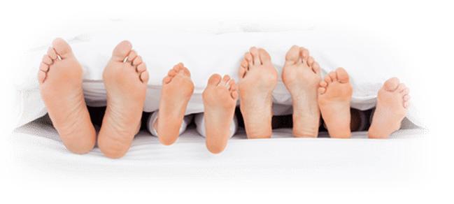timesleep voeten slapen footer